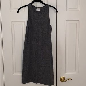 Divided H&M gray jersey bodycon dress